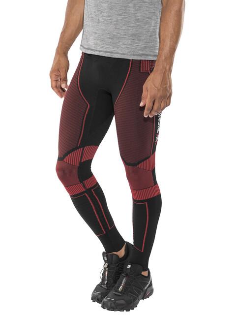 X-Bionic Effektor Power Running Pants Long Men Black/Red